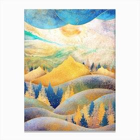 Beauty Of Nature Iii Canvas Print