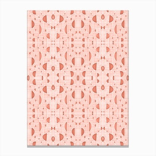 Kaleidoscopic Cretto Canvas Print