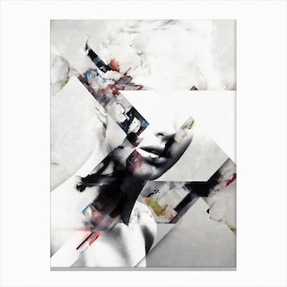 Abstract Sections Of Beauty Canvas Print