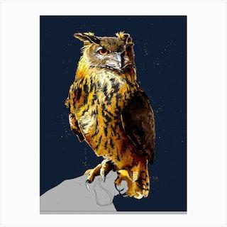 The Eagle Owl Canvas Print