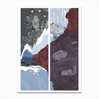 Moon Tide Canvas Print