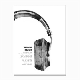Rappers Delight Canvas Print