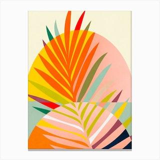 Minimal Lines7 Canvas Print