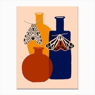 Mothecary Bottles Canvas Print