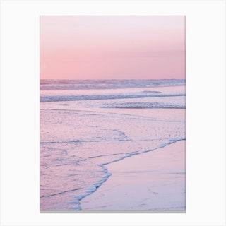 Soft Waves II Canvas Print