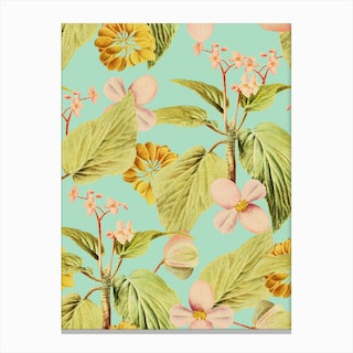 Vintage Summer In Canvas Print