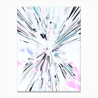 Candy Splash 2 Canvas Print