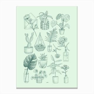 Plants Lover Canvas Print