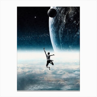 Dive Into Another World Canvas Print