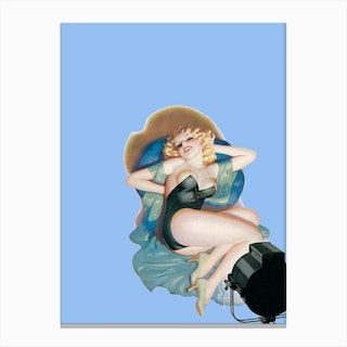 Pin-up I Canvas Print