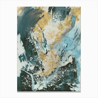 Crushed Canvas Print