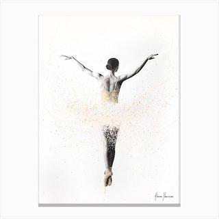 Viola Ballet Canvas Print