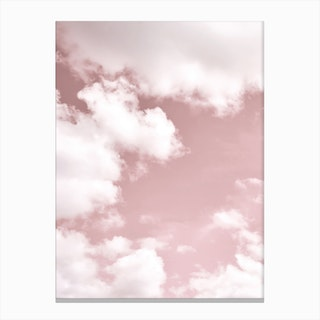 Blush Sky Canvas Print