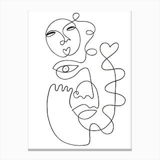 Love Galore Canvas Print