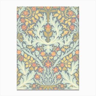 Autumn Flowers, William Morris Canvas Print