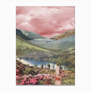 Highland Dusk Canvas Print