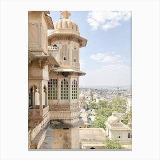 City Palace Udaipur India Canvas Print