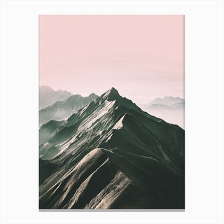 Pink Horizon Canvas Print