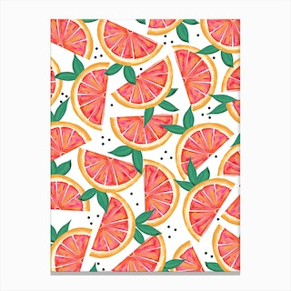 Citrus Surprise-Main Canvas Print
