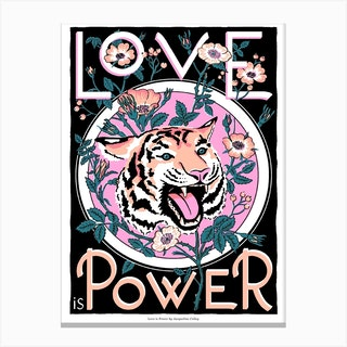 Love Is Power Canvas Print