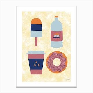 Foodie Canvas Print