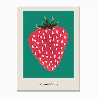 The Strawberry Canvas Print