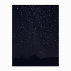 Look at the Stars 3 Canvas Print