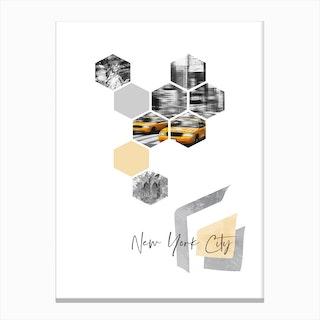 Urban Art Design New York City Canvas Print