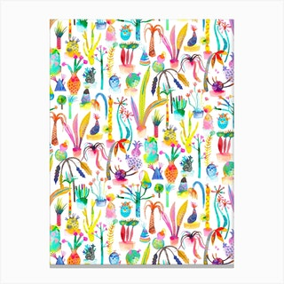 Lush Garden Canvas Print