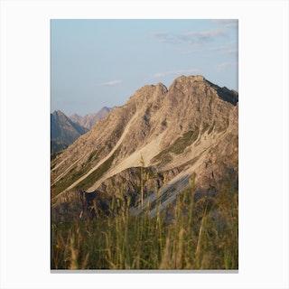 Mountain View 39 Canvas Print