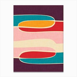 Wondering Waves Canvas Print