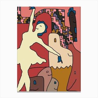 Isadora Canvas Print