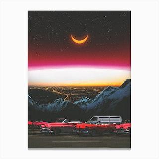 Beyond The Night Canvas Print