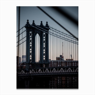 Manhattanites Ii Canvas Print