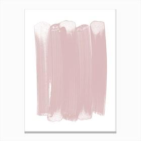 Pink Strokes Canvas Print