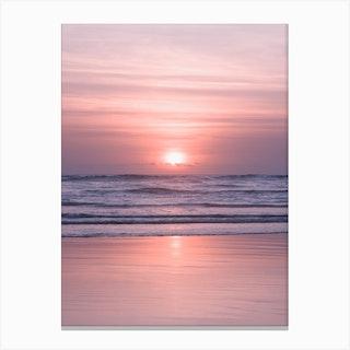 Bali Sunset VI Canvas Print
