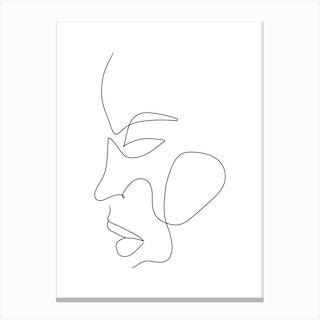 Elani Canvas Print