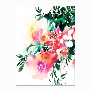 Floral Spell Canvas Print