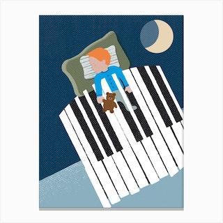Sleep Well Canvas Print