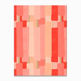 Like In Coral Canvas Print