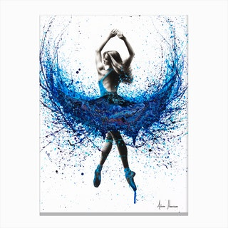 Western Sea Dance Canvas Print