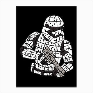 Strom Trooper Canvas Print