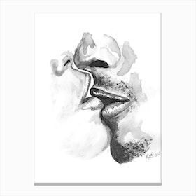 Kiss III Canvas Print