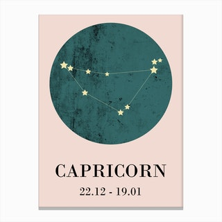 Capricorn  I Canvas Print