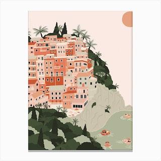 Manarola Print Canvas Print