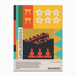 The Bangkok Canvas Print