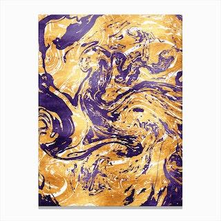 Marble XIV Canvas Print
