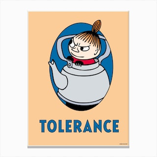 The Moomin Collection Tolerance Canvas Print