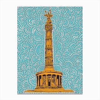 Berlin Siegessaule Canvas Print