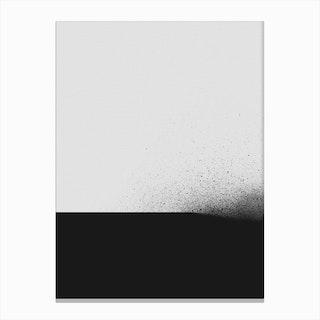 Black 00 Canvas Print